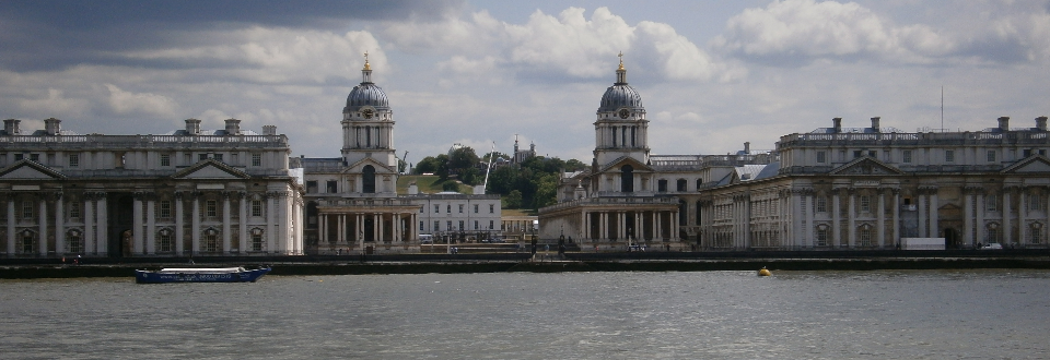 Greenwich and The Thames from Island Gardens