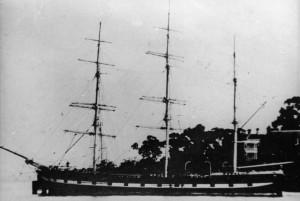 "Photo of the ""Lumbermans Lassie"" (formerly ""Windsor Castle"").  State Library of Victoria (Accession No. H99.220/3469)"