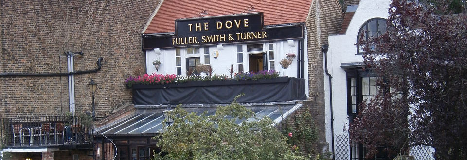The Dove at Hammersmith, London